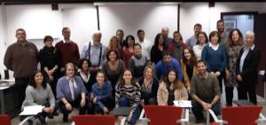"""Participación en la Jornada Técnica: """"Aplicación práctica del coaching en PRL"""" para el Instituto Regional de Seguridad y Salud en el Trabajo de Madrid,  29 de noviembre de 2019."""